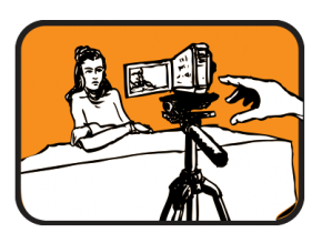 female-film-set-up
